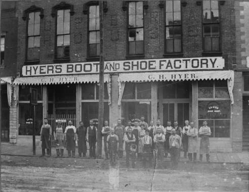 Hyer Boot Factory, date unknown